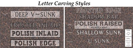 Mormon Companion Granite Headstone