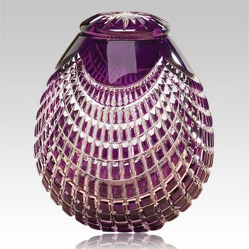 Cesar glass cremation urn