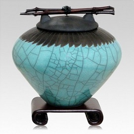 Ceramic cremation urns have a long standing position throughout our collective history