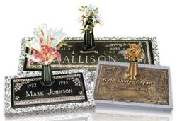 A Collage of Our Grave Markers