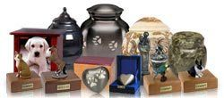 A Collage of Our Pet Cremation Urns
