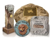 There are many options for creating an elaborate or discreet animal tribute