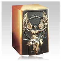 Most bronze urn is suitable for indoor or outdoor display
