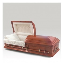 Wooden Caskets are traditional and common place in many memorial ceremonies
