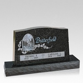 Selecting granite for a memorial often comes down to personal taste