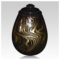 Classically shaped funeral urns often feature elegant designs appropriate for displaying