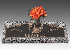 Information on adding the final date for a loved one's grave marker