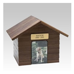 A whimsical dog urn can help create a gentle reminder of precious memories