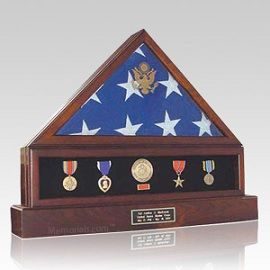 Flag cases protect and preserve the memory of a true hero