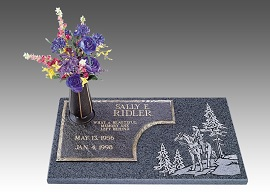 The materials used to create headstones ensure longevity of the memorial