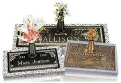 There are many headstone options to suite personal tastes and needs