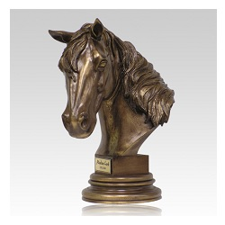 Many establish memorials to their beloved horses upon their passing
