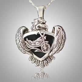 A keepsake pendant will hold and protect a small remembrance for all eternity