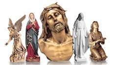Purchasing a marble or bronze statue is quick and easy and will add elegance to any setting