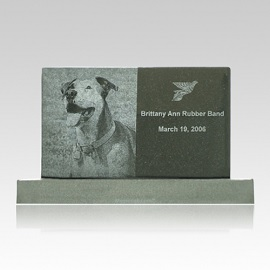 A pet headstone can serve an important role in the mourning process