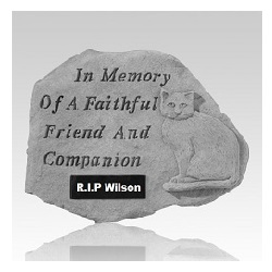 A pet memorial can help honor the life of a true friend