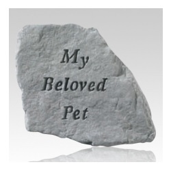 Even a simple marker can greatly help honor the memory of a pet