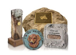 A pet memorial can help keep the memory of a treasured companion alive