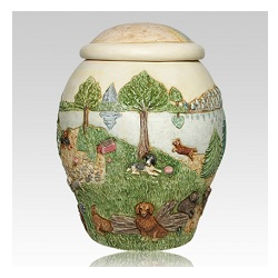 A pet urn can be a gentle reminder of the memories of the pet