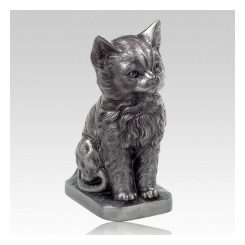 Sculptural cat urns are some of the most popular to date.