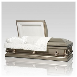 Steel coffins revolutionized the production of caskets