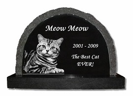 A pet grave marker can help honor the friendship of a lifetime