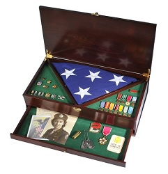 There are many benefits available to families of Veterans and military members after their passing
