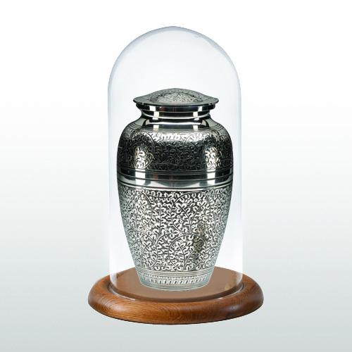 Oak Classic Glass Keepsake Dome