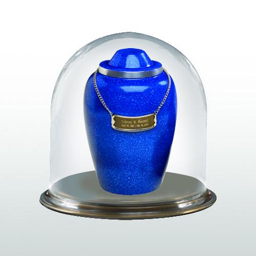 Brass Short Glass Keepsake Dome