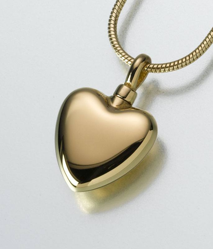Pet Heart Cremation Jewelry IV