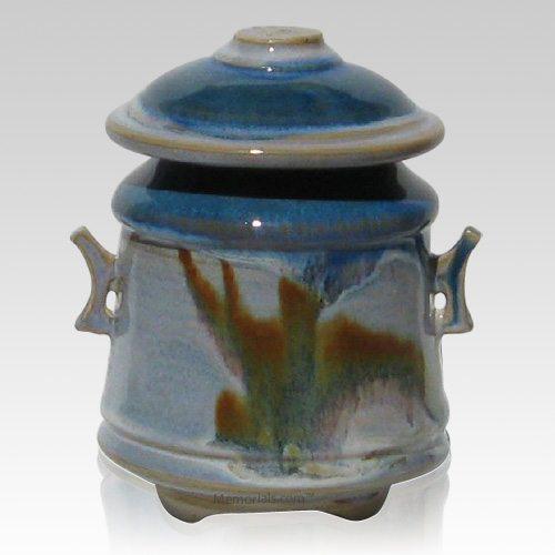 Azure Sol Children Cremation Urn