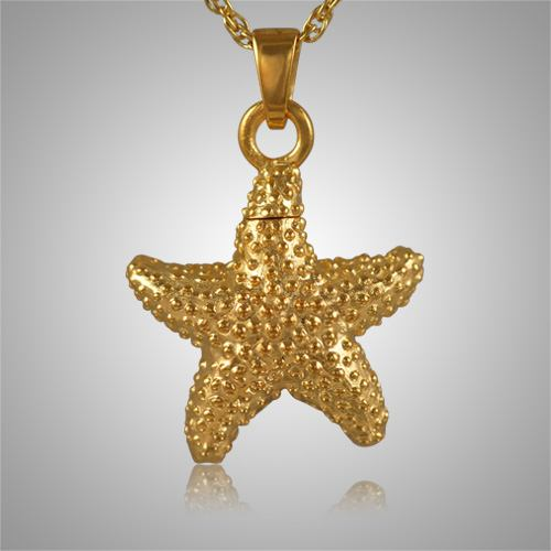 Star fish cremation jewelry ii for Fish cremation jewelry