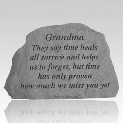 Grandma They Say Time Heals Rock