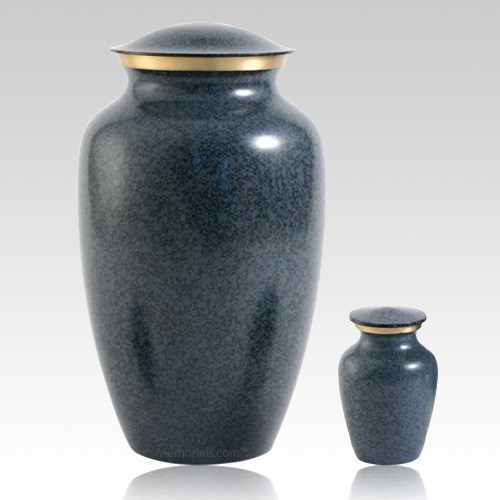 Blue Earthtone Urns