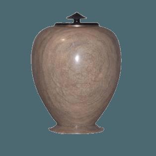 African Sage Alabaster Cremation Urn