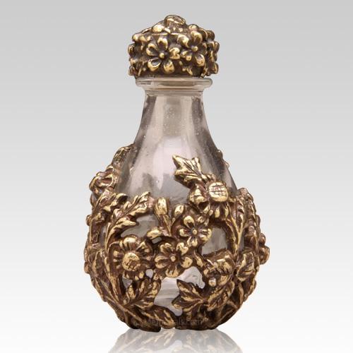 Brass Victorian Tear Bottle