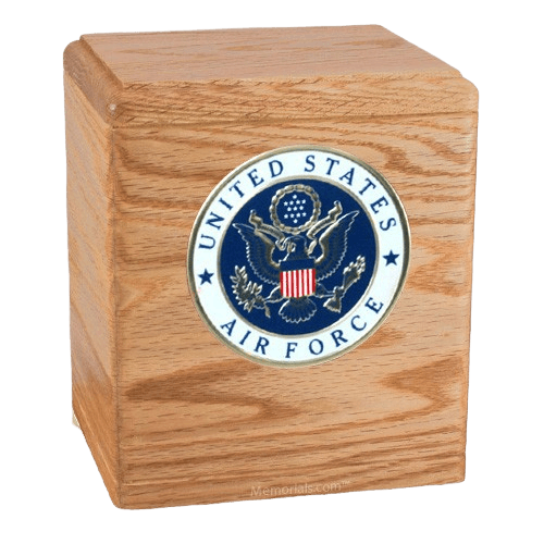 Freedom Oak Air Force Urn