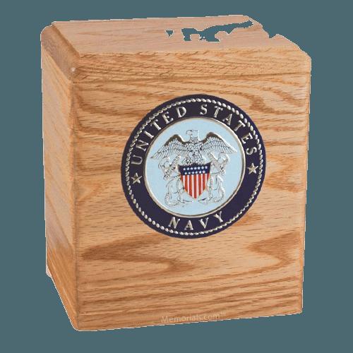 Freedom Oak Navy Urn