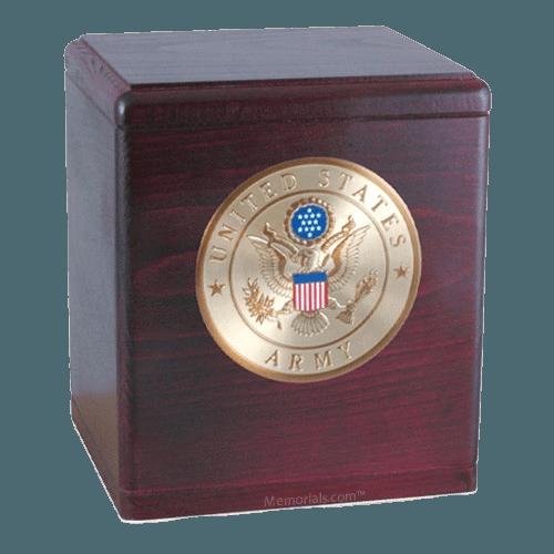 Freedom Rosewood Army Urn