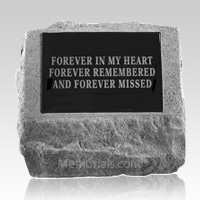 Forever Missed Cremation Gravestone