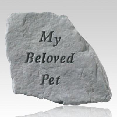 My Beloved Pet Memorial Stone
