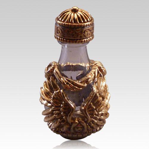 Gold Angel Tear Bottle