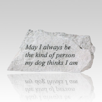 Always Be Kind Memorial Stone