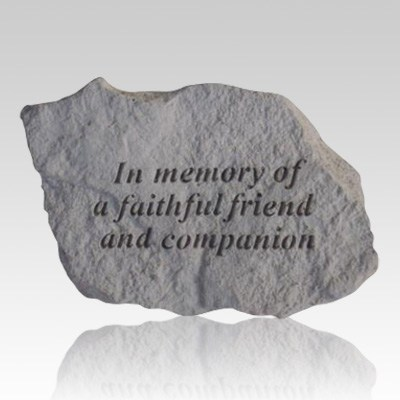 Faithful Friend Memorial Stone