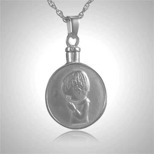 praying boy keepsake jewelry iii