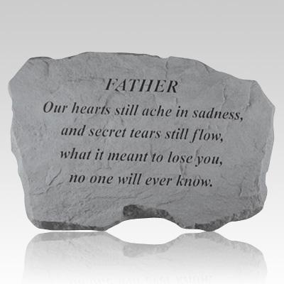 Father Our Hearts Still Ache Stone