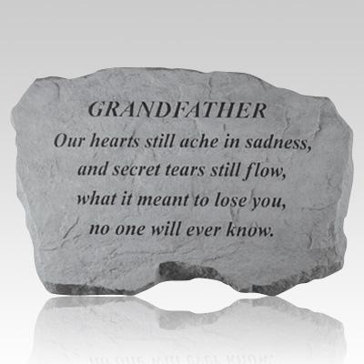 Grandfather Our Hearts Still Ache Stone