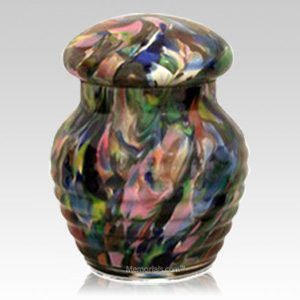 Abstract Infant Cremation Urn