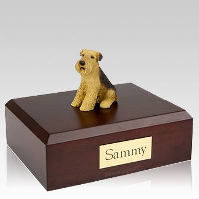 Airedale Dog Urns