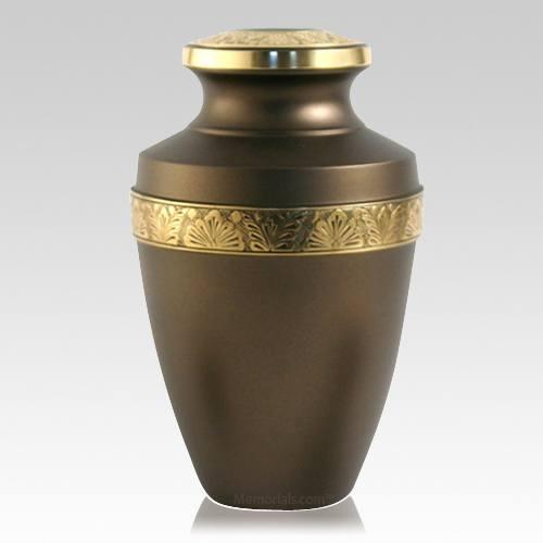 Antique Gold Keepsake Urn